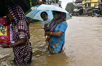 Flood hits northern India due to continued rainfall