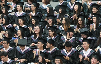 Over 7,400 students graduated from Fudan University this year