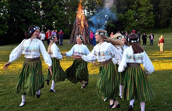 Midsummer Day marked in Estonia
