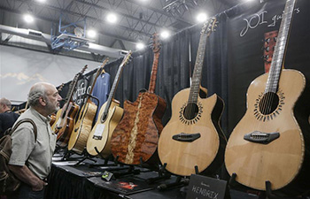 Exhibitors showcase handcrafted guitars at Vancouver Int'l Guitar Festival