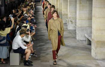 Hermes creations staged in Paris