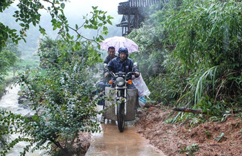 China starts emergency response for flood-stricken Hunan