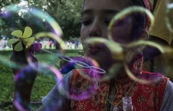 Afghan children celebrate Eid al-Fitr in Kolkata