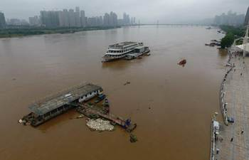 Torrential rain hits C China's Hunan