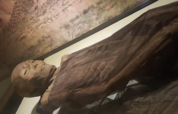 "China unearths millennia-old Silk Road mummy, still in ""good shape"""