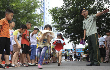In pics: safety education for children before summer vacation