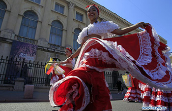 11th Int'l Folklore Festival marked in Bucharest, Romania