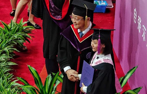 Tsinghua University holds commencement ceremony in Beijing