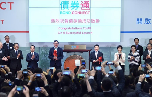 Mainland-Hong Kong bond connect launched