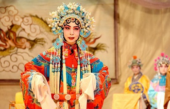 Peking Opera performed by amateur troupe in China's Hebei