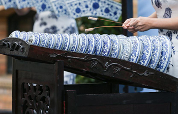 Porcelain and ceramic from China's Jingde Town exhibited in Berlin