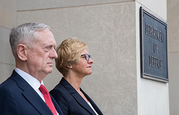 U.S. defense secretary meets Italian counterpart in Washington