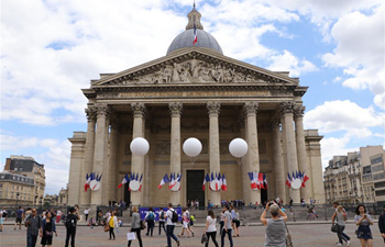 Cultural, civic events held at Pantheon in Paris on French National Day