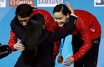 Chinese teen divers clinch gold at FINA World Championships