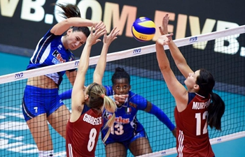 FIVB World Grand Prix 2017: Italy beats U.S. 3-2