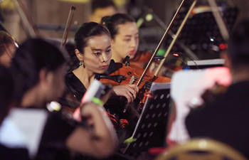 Musicians perform during opening of Amman Opera Festival