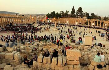 32nd Jerash Festival for Culture and Arts kicks off in Jordan