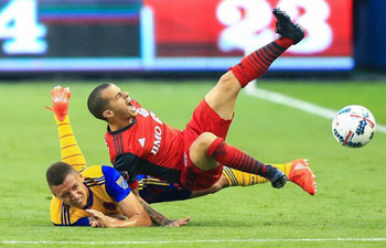 Toronto FC tie with Colorado Rapids at Major League Soccer match