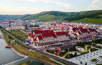 In pics: summer resort city Arxan in N China's Inner Mongolia