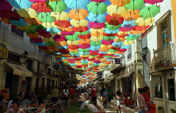 City festival ends in Portugal's Agueda