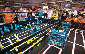 National final of RoboCom Adolescence Challenge held in C China's Hubei