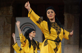 Jerash Festival of Culture and Arts held in Jordan