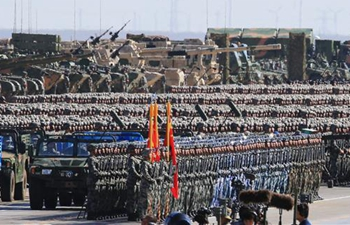 Military parade held to mark PLA 90th birthday (Part I)