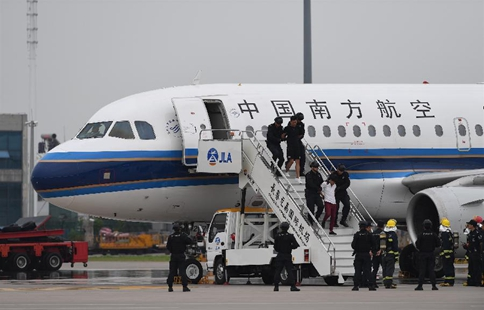 Anti-hijacking exercise held at airport in NE China