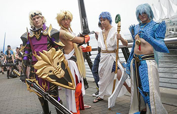 Annual Anime Revolution (Anirevo) held in Vancouver