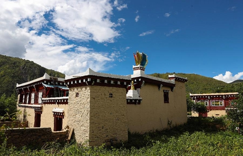 In pics: Daofu Tibetan houses in SW China's Sichuan