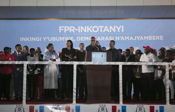 Rwandan electoral commission declares Kagame as winner, citing provisional results