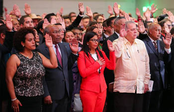 Delcy Rodriguez sworn in as president of ANC