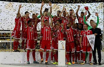 Bayern Munich win 2017 German Super Cup trophy