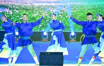 Ulan Muqir Art Troupe marks 60th founding anniversary in N China
