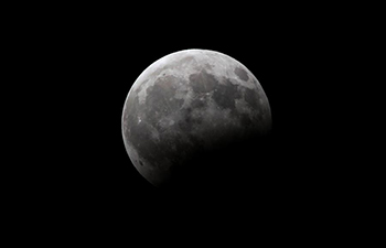Partial lunar eclipse seen in Asia, Mideast