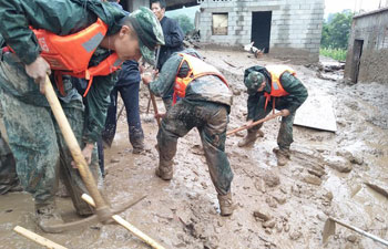 8 killed, 17 missing in SW China landslide