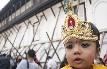 Gaijatra festival celebrated in Nepal