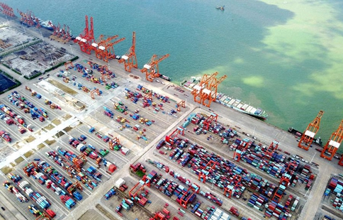 Throughput of Qinzhou Port reaches 39.09 mln tonnes in H1
