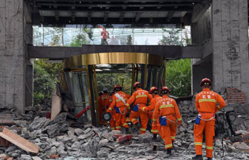 Rescue work continues in quake-hit Jiuzhaigou, China's Sichuan