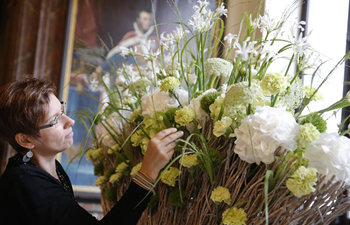 Flowertime of Brussels city hall to be held on Aug. 11