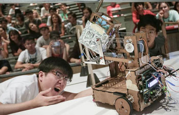 Robot competition held in Vancouver university