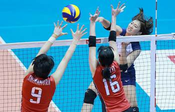 In pics: 2nd round of Asian Women's Volleyball Championship