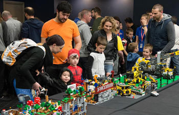 Annual Lego Brick Expo attracts visitors in Australia