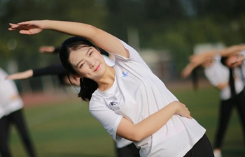 Students trained for upcoming 13th Chinese National Games