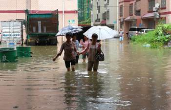 Torrential rain strikes S China's Guangxi