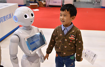Children explore the world of robots