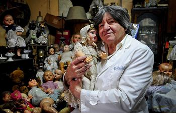 """Doll doctor"" gives broken toys second chance of life"