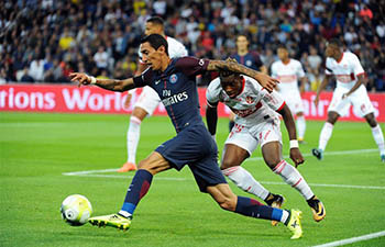 French Ligue 1: Paris Saint Germain beats Toulouse FC 6-2