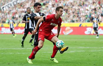Bundesliga match: Borussia Moenchengladbach vs. 1. FC Koeln