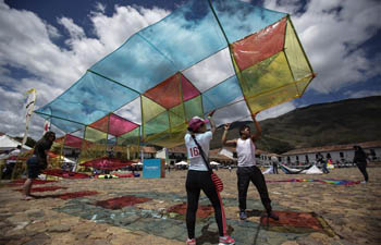 Wind and Kites Festival held in Colombia